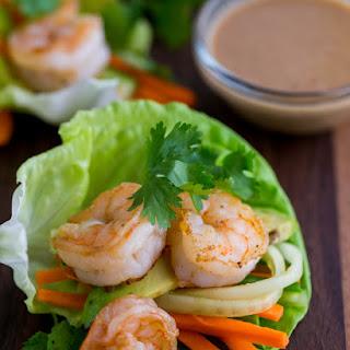 Peanut Shrimp Lettuce Wraps Recipes