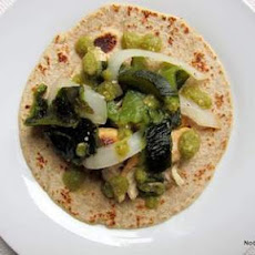 Green Chile Chicken Soft Tacos (Mexican Everyday pg.198)
