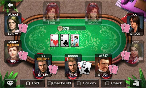 dh-texas-poker-texas-hold-em for android screenshot