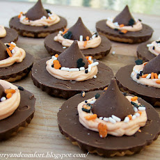 Halloween Witch's Hat Cookies
