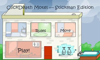 Screenshot of Stickman ClickDeath Motel