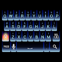 Blue Neon Keyboard Skin icon