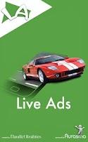 Screenshot of Live Ads