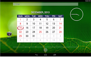 Screenshot of Calendario Festivos Colombia