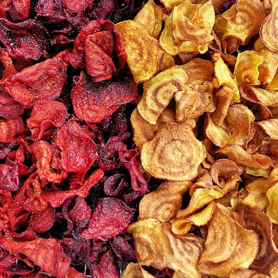 Cinnamon Chipotle Beet Chips