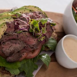 Fillet & Salad by Corné du Plessis - Food & Drink Plated Food ( steak, fillet )