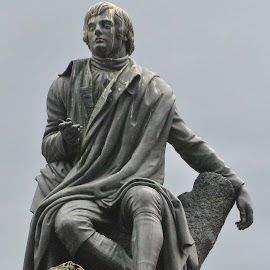 Robert Burns by James Menteith - Buildings & Architecture Statues & Monuments ( building, statues, monument, photography )