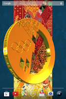 Screenshot of Sochi Gold Live Wallpaper Free