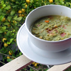 Split Pea Soup with Tofu