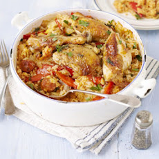 Chicken & Chorizo Rice Pot
