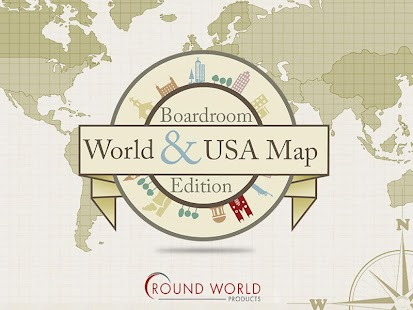 Boardroom World & USA Map - screenshot