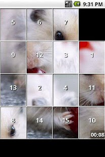 Hamster Puzzles - screenshot