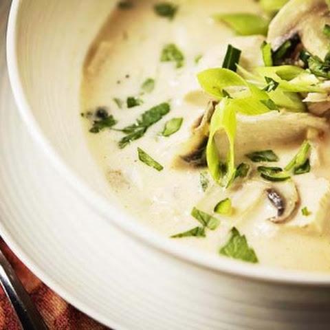 Thai-Style Coconut Chicken Soup Recipe | Yummly