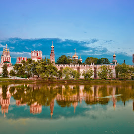 Novodevichy by Dmitry Samsonov - Buildings & Architecture Places of Worship ( monastery, novodevichy convent, moscow, world heritage, unesco, rissia )