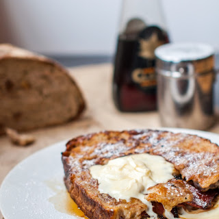 Better than sex for breakfast- stuffed French toast