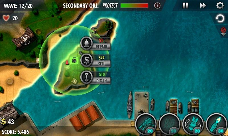 iBomber Defense Pacific Screenshot 4