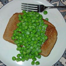 Mama's Creamed Peas for Sick Tummies