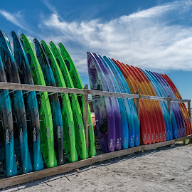 by Keith Ellington - Sports & Fitness Surfing ( kayaks, beach )
