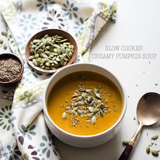 Slow Cooker Creamy Pumpkin Soup