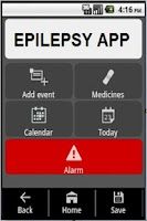 Screenshot of Epilepsy App
