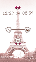 Screenshot of Cute wallpaper★sweet paris