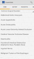 Screenshot of Current Essentials of Medicine