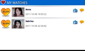 Screenshot of love partner singlematch flirt