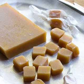Soft Apple Cider Caramels