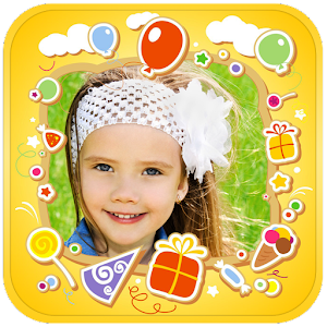 Kids Photo Frames & Stickers
