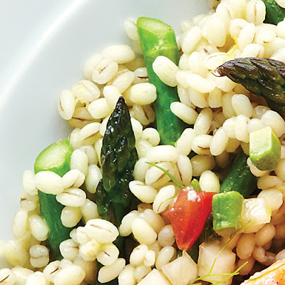 Risotto-Style Barley & Asparagus