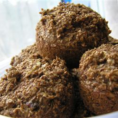 Deep Dark Old Recipe Bran Muffins