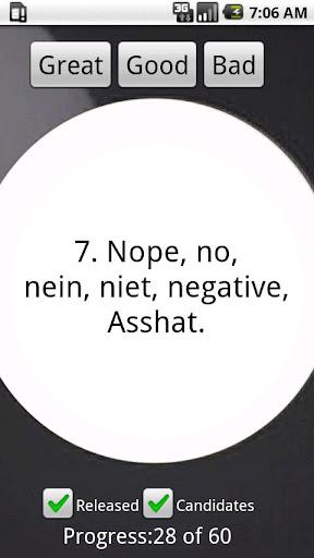【免費休閒App】Asshat's 8-Ball Lite-APP點子