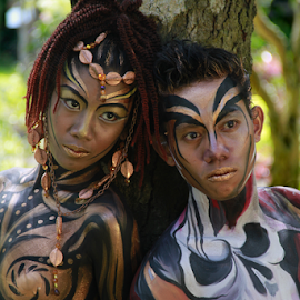 Body Paint by Tristan Yap - People Body Art/Tattoos ( art, body paint, person, people, tattoo,  )