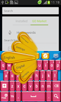 Screenshot of Candy Mania GO Keyboard