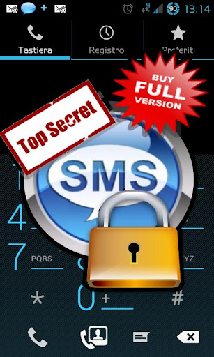 top-secret-sms-phonebook for android screenshot