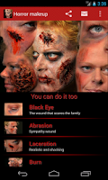 Screenshot of Halloween Horror Makeup Free