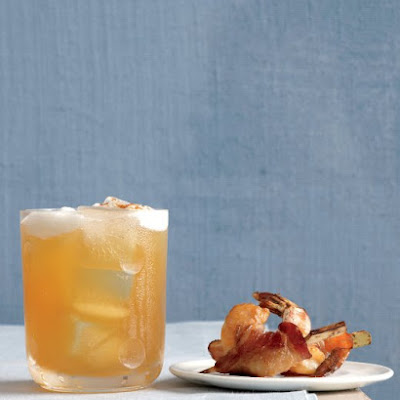 Bacon-Wrapped Ginger Shrimp