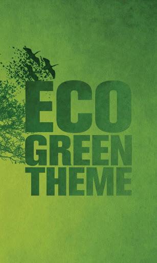 생태 녹색 ADW 테마