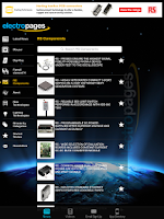 Screenshot of Electronics News