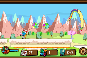 Screenshot of Adventure Time Blind Finned 2