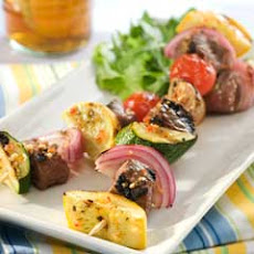 Beef & Vegetable Kabobs