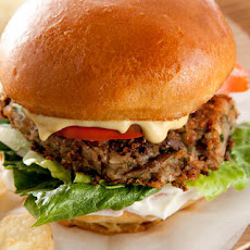 Black-Eyed Pea Vegan Burgers  Recipe