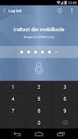 Screenshot of Djurslands Banks MobilBank