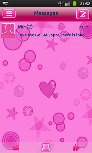 Cutie Pink Go Sms