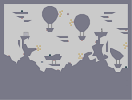 Thumbnail of the map 'Baloons on a windy sky'