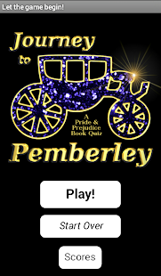 Journey to Pemberley - screenshot