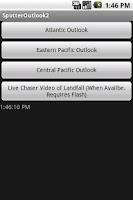 Screenshot of Storm Chaser Hurricane Outlook