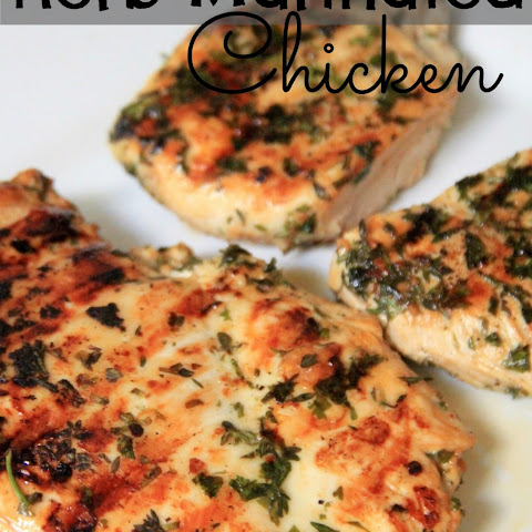 Garlic and Herb-Marinated Chicken Thighs Recipe | Yummly