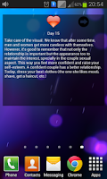 Screenshot of Daily love advices Lite