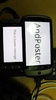 Screenshot of AndPoster